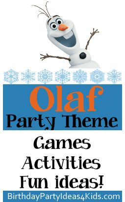 25 Best Ideas About Olaf Party On Pinterest