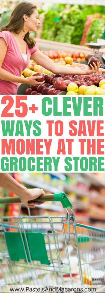 The BEST ways to save money at the grocery store. Learn ways to go Grocery shopping on a budget and save money. Meal planning and other tips.