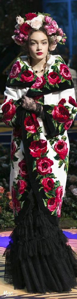 Spring 2017 Haute Couture Dolce & Gabbana Alta Moda