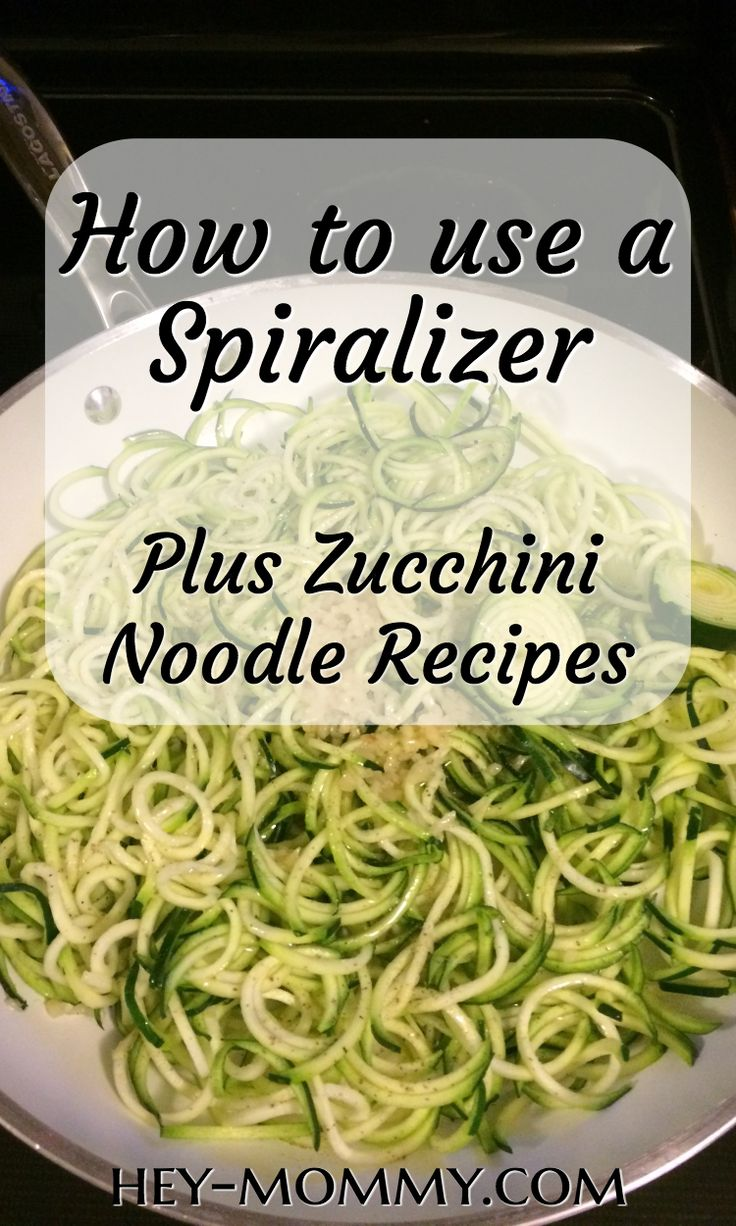 How to make zucchini noodles with a spiralizer and amazing healthy recipes to try using zoodles. Zucchini noodles are a healthy and gluten free substitute to use creatively in many of your favorite dishes. Spiralized zucchini recipes. Spiralizer recipes. Zucchini noodle recipes. Zucchini noodle tools. #healthy #healthyfood #healthyrecipes #healthyeating #healthyliving #healthylifestyle #zucchini #zoodles #spiralizer