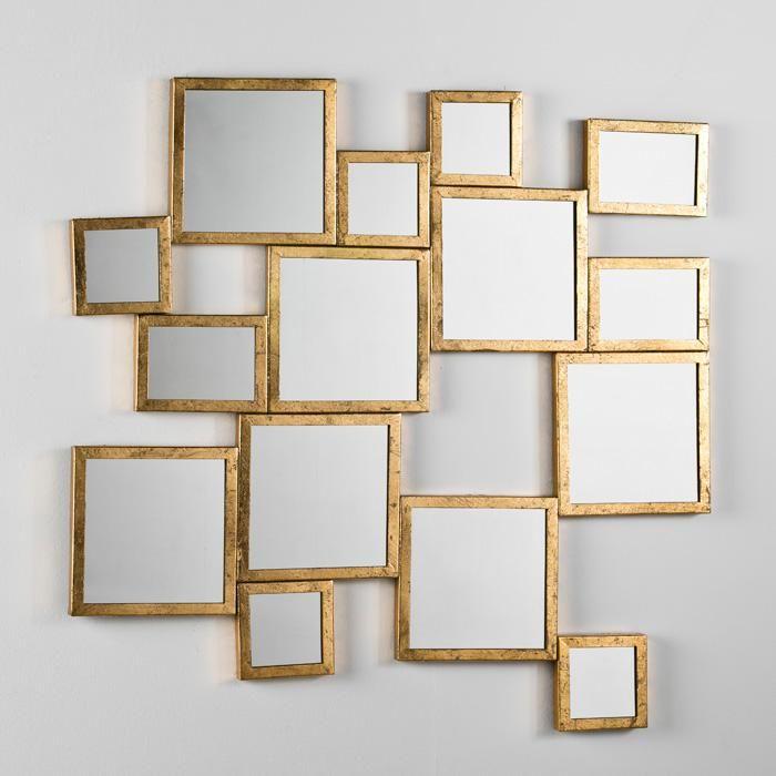 17 mejores ideas sobre espejos cuadrados en pinterest for Espejo pared completa