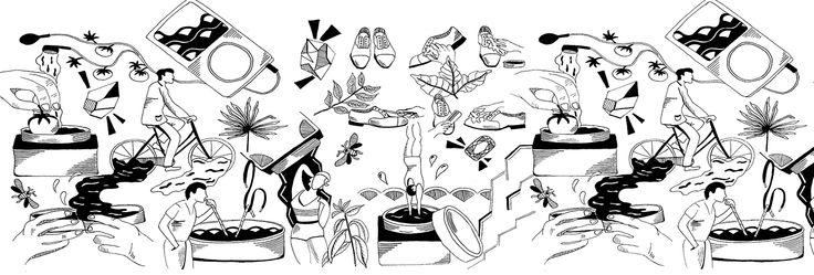 Création du webdesign de la marque de cirage Saphir 1925