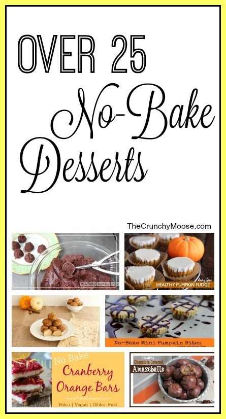 The Best No-Bake Desserts - The Crunchy Moose