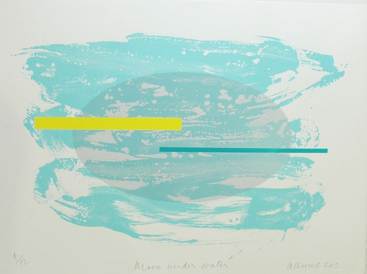 Moon Under Water Gretchen Abrecht http://www.parnellgallery.co.nz/artists/gretchen-albrecht/