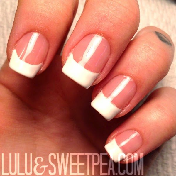 Best 25 at home gel nails ideas on pinterest gel nails at home lulu sweet pea easy at home gel french manicure solutioingenieria Images