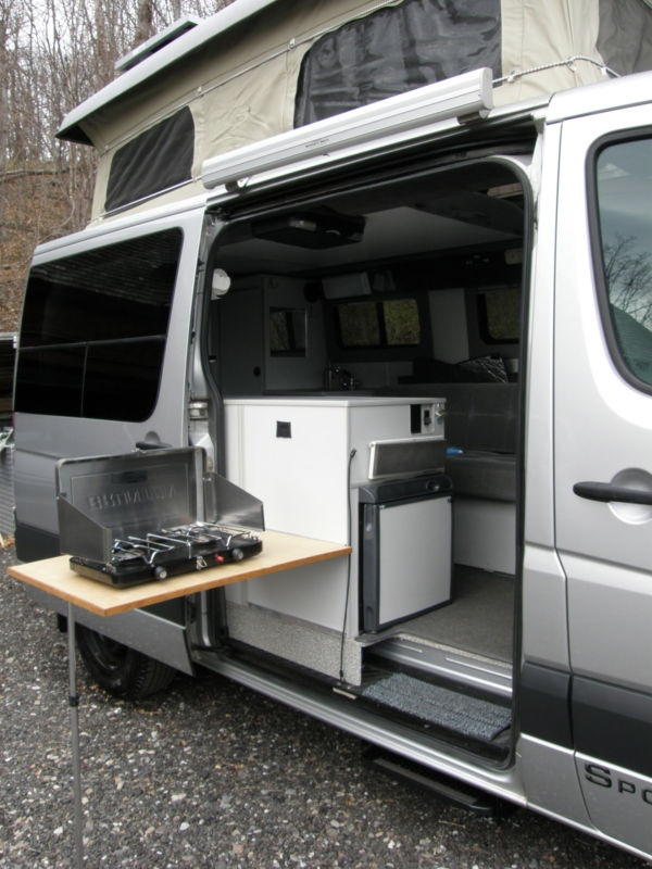 2008 Sportsmobile Dodge Sprinter Rv Having A Flip Out