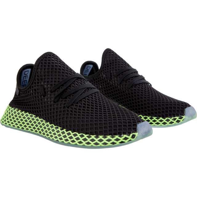 Sportowe Meskie Adidas Adidas Czarne Deerupt Runner Zapatos Deportes