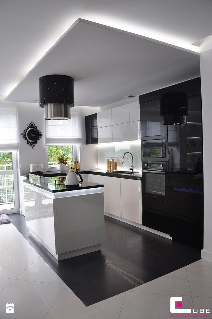 Kuchnia styl Glamour - zdjęcie od CUBE Interior Design