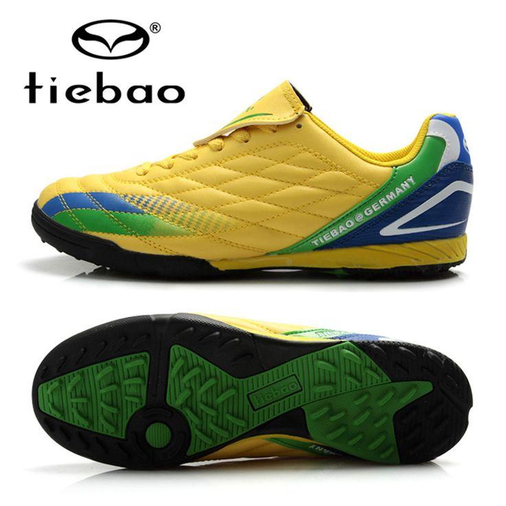 TIEBAO Professional Sports Shoes Soccer Chuteira Futebol Outdoor Boots Men Sneakers Soccer Cleats TF Turf Soles Botas De Futbol
