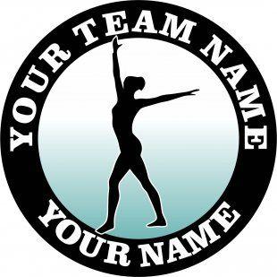Customized Gymnastics Logo 02