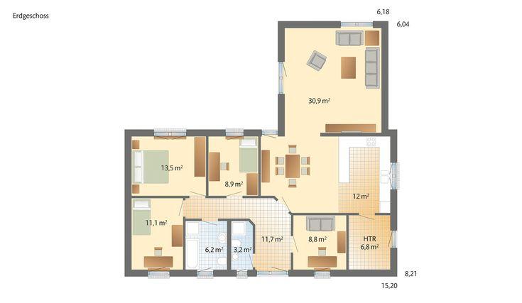 die besten 25 winkelbungalow grundriss ideen auf pinterest winkelbungalow grundriss wohnung. Black Bedroom Furniture Sets. Home Design Ideas