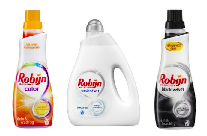 Maakt het eigenlijk uit welk wasmiddel je gebruikt? Op onze wasmachine staan altijd drie flessen wasmiddel; een voor de witte w...