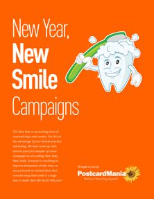 New Year, New Smile - Dental Marketing Campaigns
