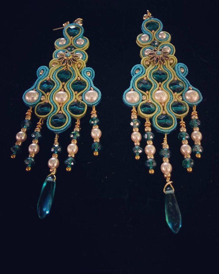 #hasce #soutache #soutacheearrings #glam #fashion #girls #girl #followme #jewels #accessories #madeinitaly #handmade #italy #love #luxury #luxurylife #lusso #luxe #earrings #rich #tweegram #fashionjewels #orecchinifattiamano #orecchini #fashionista #fashionblogger #instastyle #trend #bijoux #handcrafted
