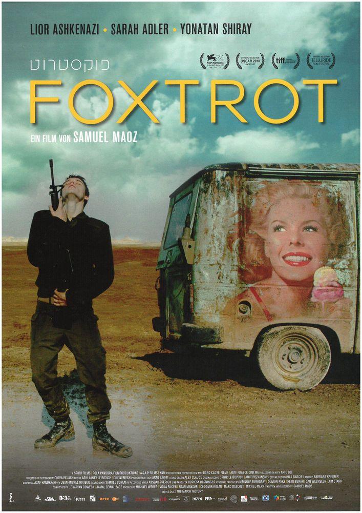 FOXTROT 2018 - ORIG. FILMPOSTER A4 CINEMA AD