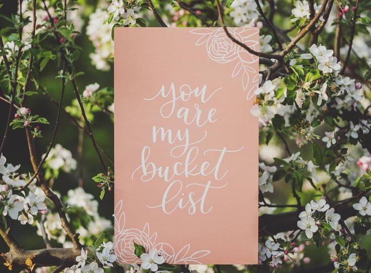 """you are my bucketlist #weddingsign  #bakancslista #esküvő…"""""""