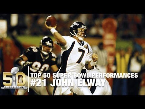 #21: John Elway Super Bowl XXXIII Highlights | Top 50 Super Bowl Performances - YouTube