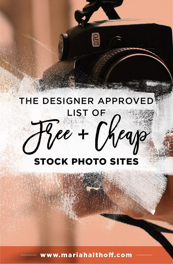 The Designer Approved List of Free and Cheap Stock Photo Sites