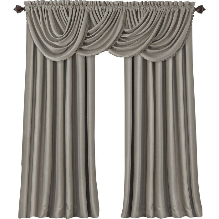 Astoria Grand Ardmore Waterfall 36 Long Curtain Valance Reviews
