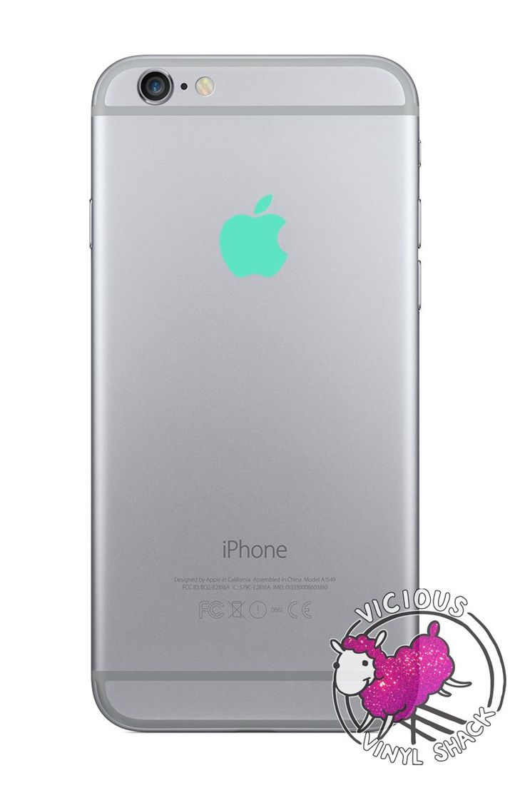 Mint Green Color Changer for Apple iPhone 6 Plus Logo Vinyl Sticker Decal. High quality vinyl decal made to last. Easy to apply, easy to remove. Leaves no residue. Created to fit the Apple iPhone 6 Plus logo! Also great for Laptops, Glass, and any flat non-porous surface. See description about colors and size. Contact us for custom orders!.