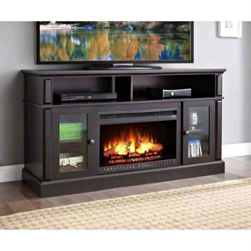 TV Stand Electric Fireplace Media Center Entertainment Console Espresso  Cabinet In Home U0026 Garden, Home
