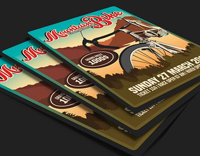 """Check out new work on my @Behance portfolio: """"Mountain Bike Championship"""" http://be.net/gallery/40183919/Mountain-Bike-Championship"""