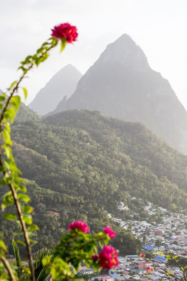 Discover the 7 Natural Wonders of the Caribbean: The Pitons, St. Lucia
