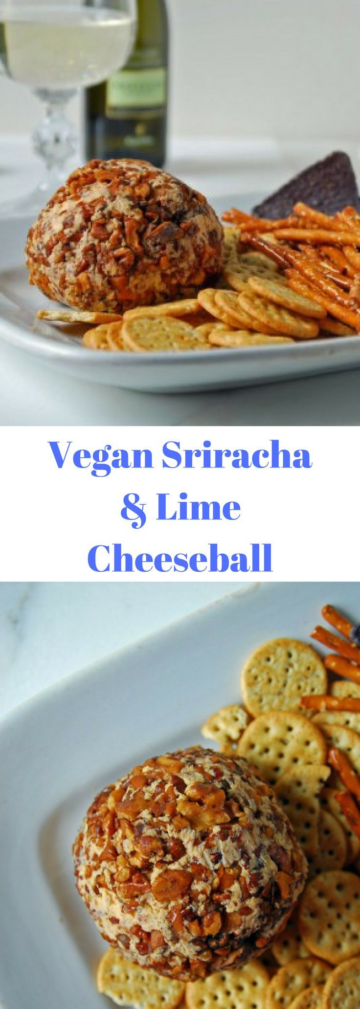 Cheeseballs usually conjure up images of Chiristmas parties and office potlucks, but I found that this one just reminded me that vegan cheese can be a.) really delicious and b.) super easy, the perfect combination