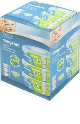 Für Windeln von Babys jeden Alters: Sangenic Universal Nachfüllkassette zum Nachfüllen jedes Windeltwisters bietet höchste Qualität. für höchste Ansprüche...