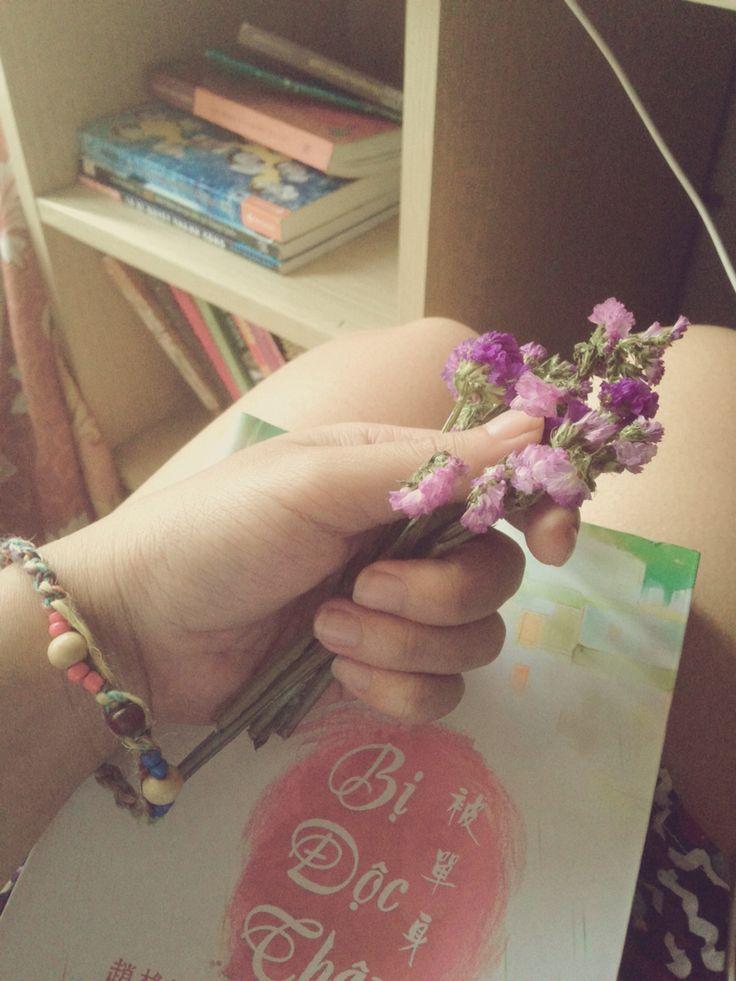 M single n i love dried flowers!