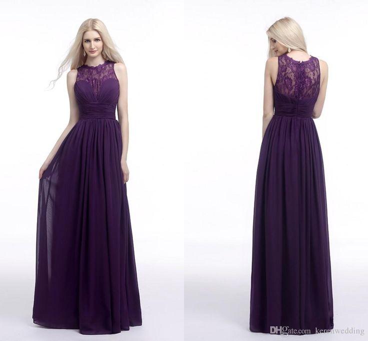 Blackish purple dress