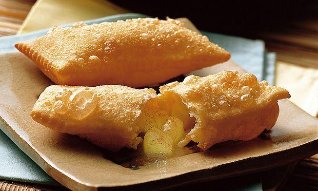 Torta frita de maçã - MdeMulher - Editora Abril