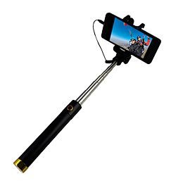 EASY TO USE - http://selfiesticksport.com/ (Place your Cell Phone in the Secure Holder, Plug the Connector into your Audio Jack and you are ready. It is that Quick. No Bluetooth Pairing or troublesome Batteries to charge.)