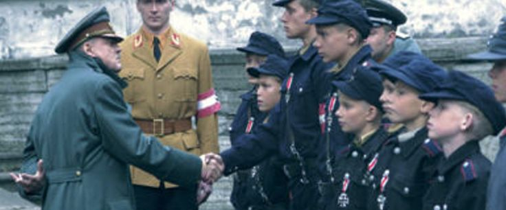 """""""DOWNFALL"""" Traudl Junge, the final secretary for Adolf Hitler, tells of the Nazi dictator's final days in his Berlin bunker at the end of WWII."""