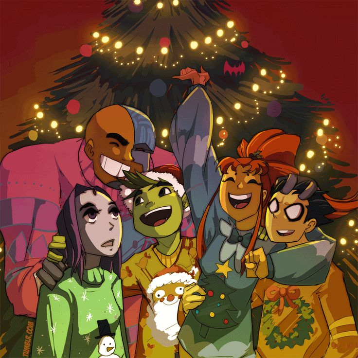 Ugly Christmas Sweaters- TT by Ceshira on deviantART