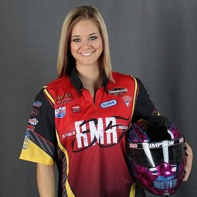 Megan Meyer in Top Alcohol Dragster