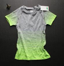 Zomer Gym Gestreepte Compressie Shirts vrouwen Sport T shirts Droog Quick Running Korte Mouw T shirts Fitnes Kleding Tees & Tops in  S: buste 70cm, lengte 59cm, geschikt voor 40-50kg gewichtM: buste 76cm, lengte 62cm, geschikt voor 50-60kg gewich van T- shirts op AliExpress.com | Alibaba Groep