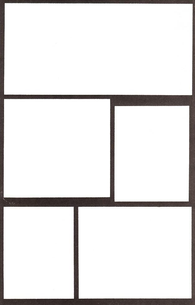 printable comic book blanks