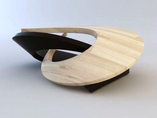 Charming OYA Coffee Table Sculpture By Svilen Gamolov Photo