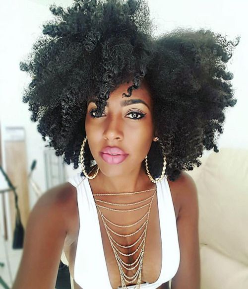 "embracethenaturalyou1: ""Her hair is gorgeous! @shanillia26 Shop via…"