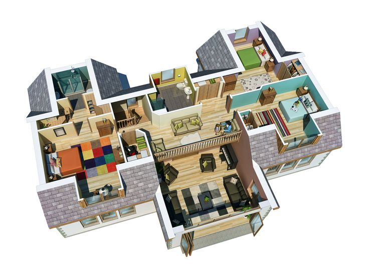#3D #Floorplan | Would Make Great Content For A NimblePitch Interactive  Map: Http