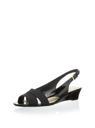 58% OFF Ellen Tracy Women's Jillian Slingback Sandal (Black)