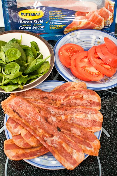 A guilt free BLT from Nugglemama starring Turkey Bacon! #ButterballCanada