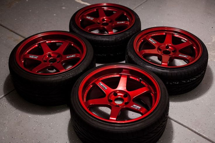 Rays Engineering Volk TE37's