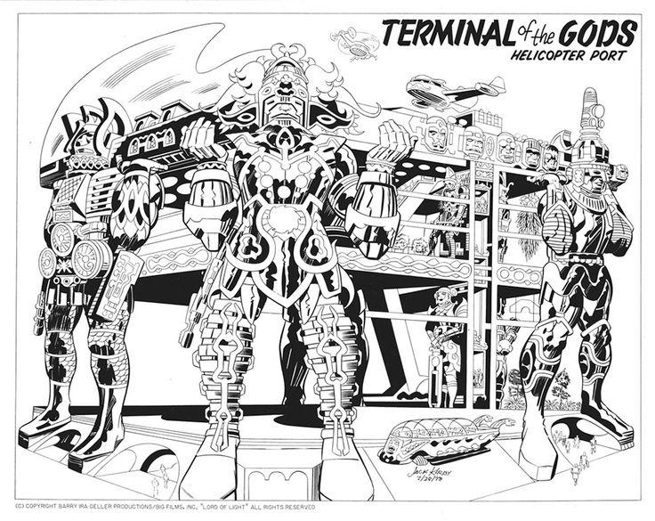 Argo | Confira os desenhos de Jack Kirby para o filme original > Quadrinhos | Omelete