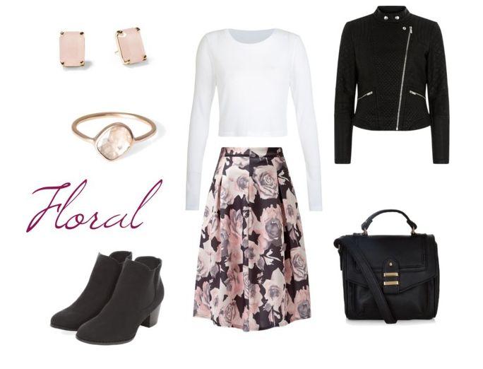 Descubre todo sobre Floral Skirt. Entra en WeLoverSize.com e informáte.