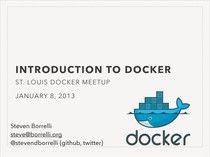 Introduction to Docker #docker