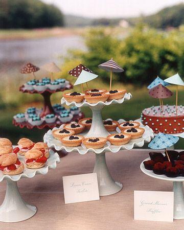 BAH! Mini pie buffet!