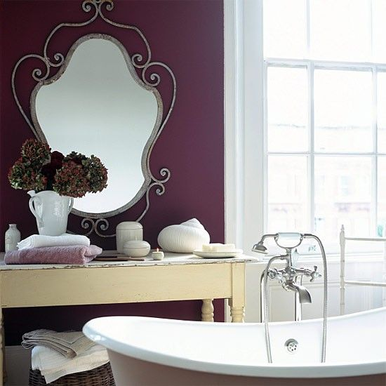 deep colors look wonderful as an accent wall