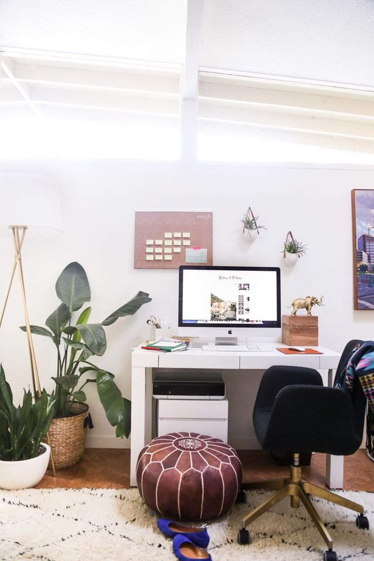 Our Home Office (and Friday Links) - Hither & Thither